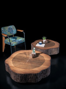 Woodline Collection - Small Center Table - Fred