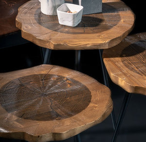 Woodline Collection - Service Set Table - Harley
