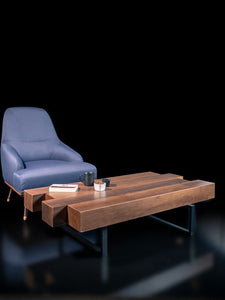 Woodline Collection - Center Table - Barcode