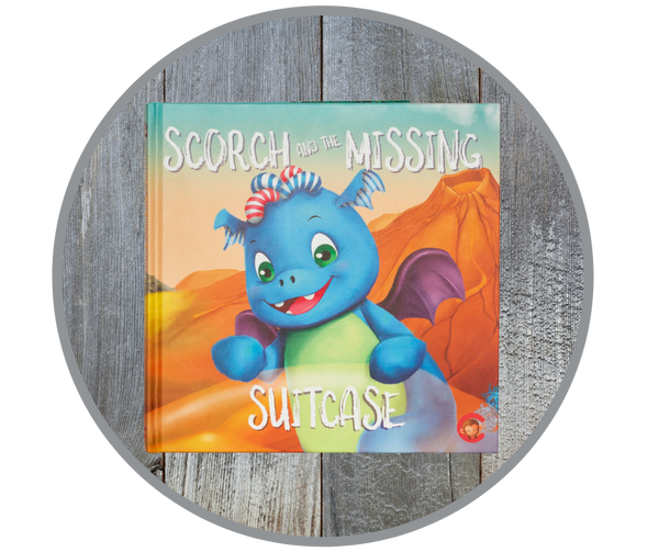 Scorch And The Missing Suitcase Story Book