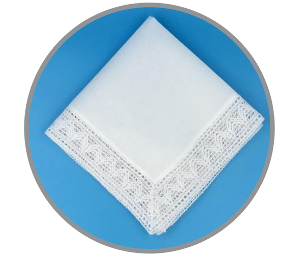 Chapel Lace Handkerchief
