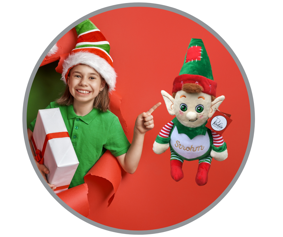 Christmas Elf, Tinsel Toes – Poole\'s Embroidery, LLC