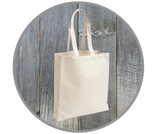 Small Canvas Tote Bag