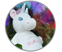 Starflower Unicorn, White