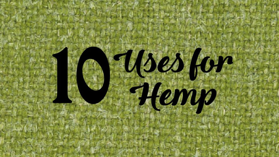 10 INTERESTING USES FOR HEMP