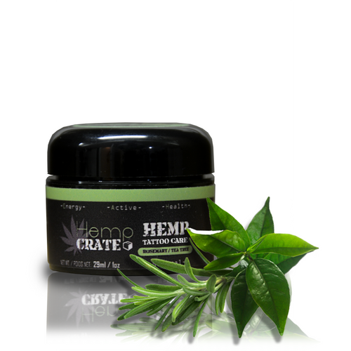 Hemp Tattoo Salve with Rosemary & Tea Tree