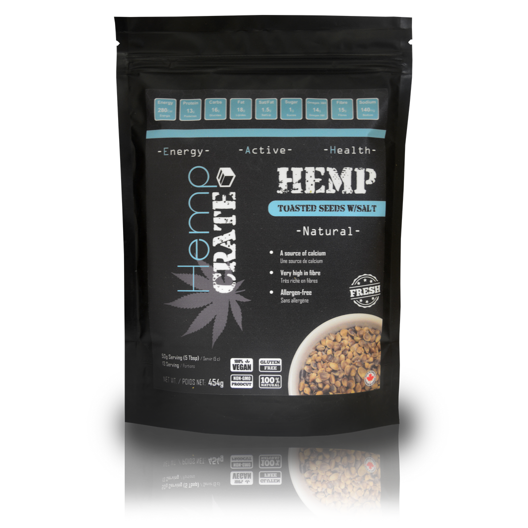 Toasted Hemp Seeds with Sea Salt