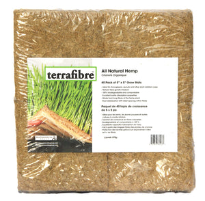 All Natural Hemp Grow Mats
