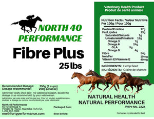 Fibre Plus (Hemp Hulls) for Horses