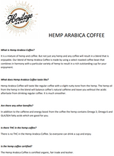 Load image into Gallery viewer, Hemp Arabica Coffee