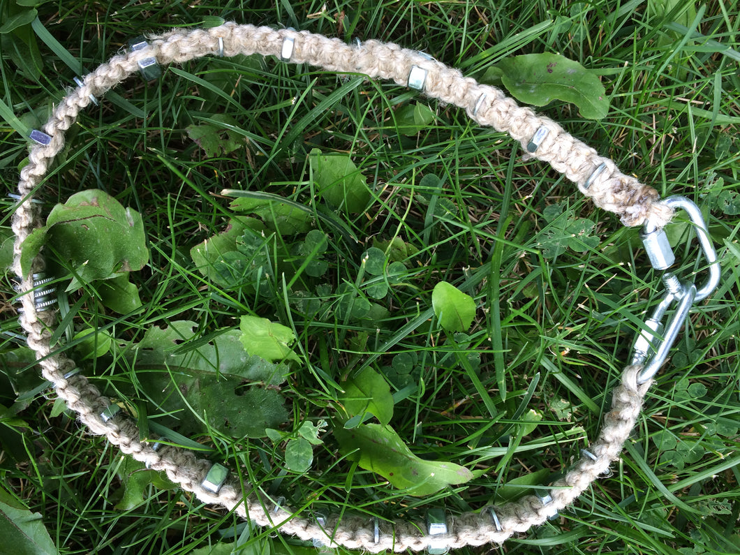 Nuts About Hemp Necklace