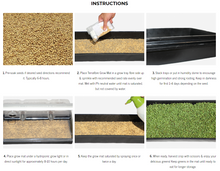 Load image into Gallery viewer, All Natural Hemp Grow Mats