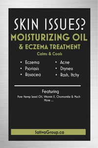 Moisturizing Oil & Eczema Treatment