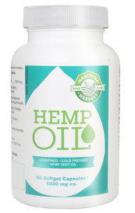 Hemp Oil Soft Gel Capsules