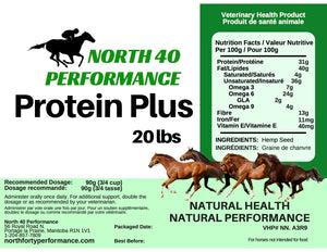 Protein Plus Hemp for Horses