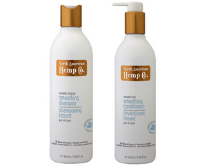 Smoothing Shampoo & Conditioner with Hemp Oil