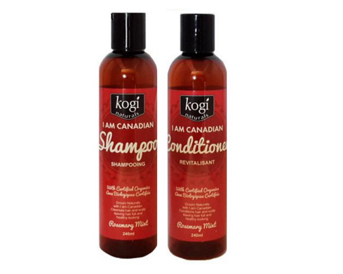 Canadian Shampoo & Conditioner with Hemp Oil