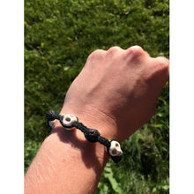 Load image into Gallery viewer, Essential Oil Diffusing Skull Bracelets