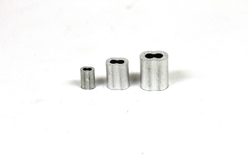 Aluminum Double Ferrules - TrapShed Supply Co.