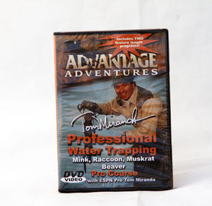 Professional Water Trapping DVD - Tom Miranda