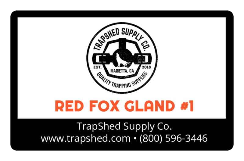 Red Fox Gland Lure #1