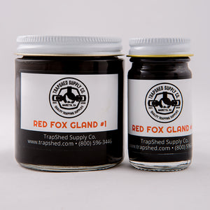 Red Fox Gland #1 Lure - TrapShed Supply Co.