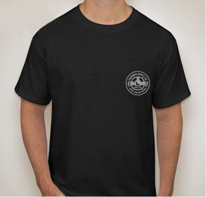 TrapShed Pocket T-Shirt - Black - TrapShed Supply Co.