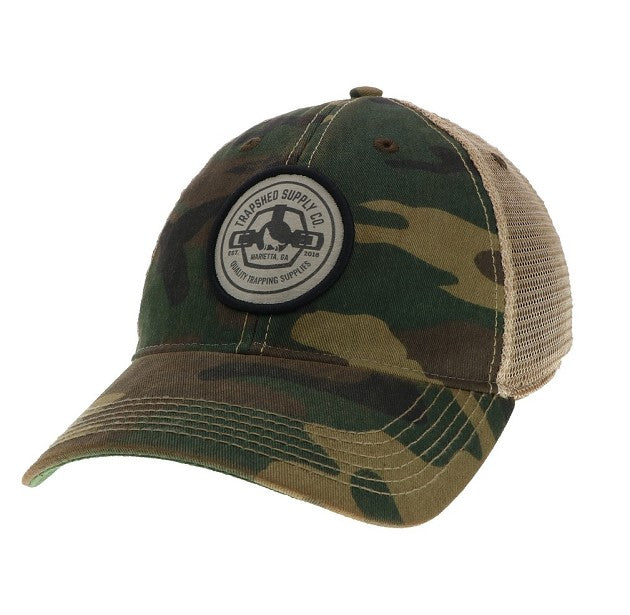Vintage Camo Trucker Hat - TrapShed Supply Co.