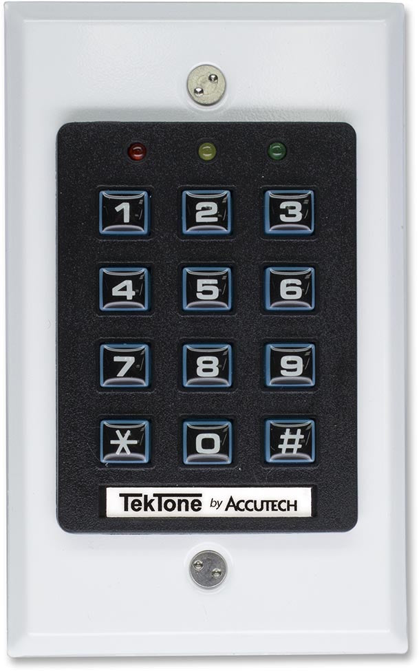 TekTone NC703/NC707 Tek-CARE Indoor/Outdoor Keypads