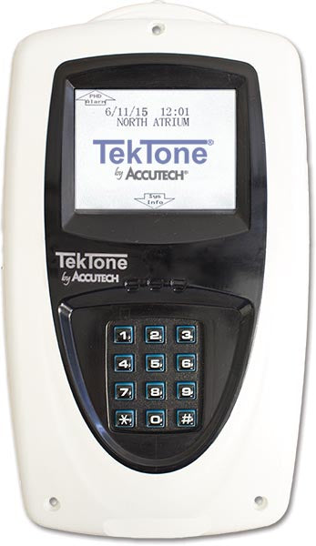 TekTone NC709/NC711 Tek-CARE Keypads with Display