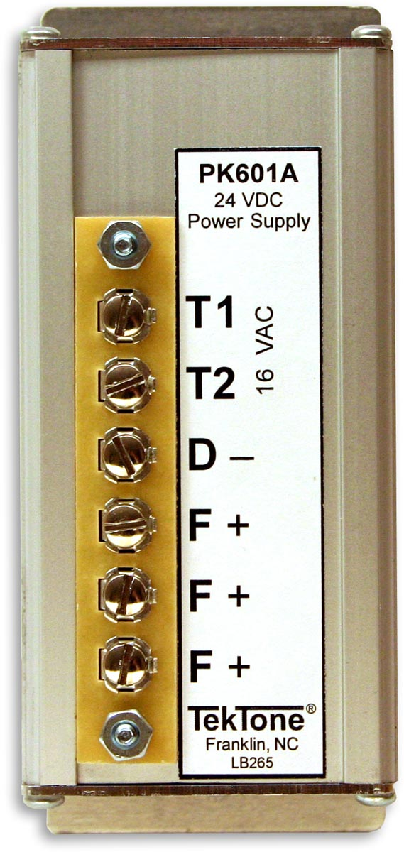 TekTone PK601A Tek-CARE 24 VDC Power Supply