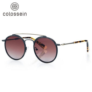 COLOSSEIN Retro Round Glasses