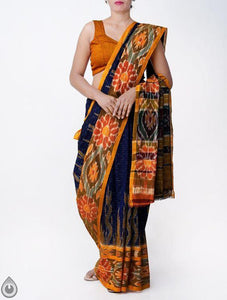 Linen Designer Digital Print Saree MS-11306