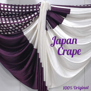 Japan crape silk saree 5027
