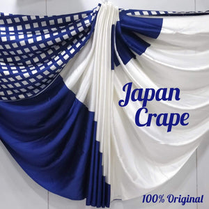 Japan crape silk saree 5030