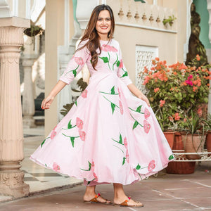 Pure american crepe traditional gown BN-1025