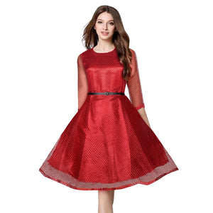 Fancy Exclusive Designer Maxican Maroon Dress