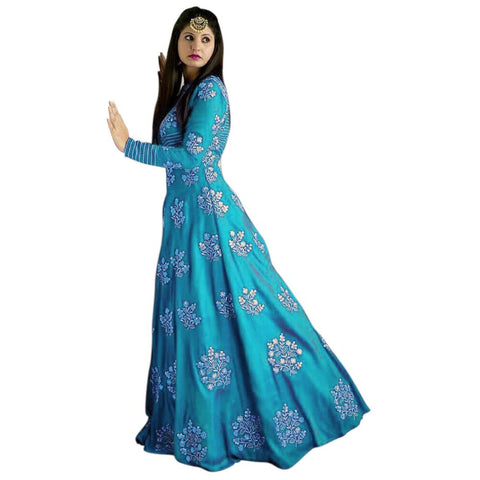 Designer Embroidered Salwar Suit for Womens- Divya Firozi