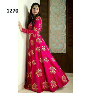 Designer Embroidered Salwar Suit for Womens- Divya Pink