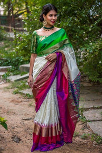 Linen Digital Printed Saree MS-1251