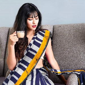 Awsome Designer Linen Printed Saree MS-1790