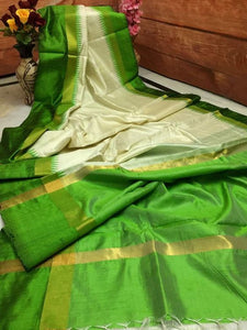 Beautiful Designer Linen Printed Saree MS-1922