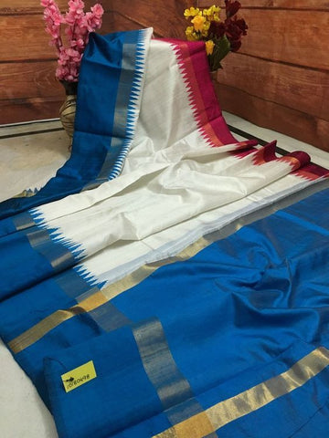 Beautiful Designer Linen Printed Saree MS-1925