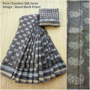 Awsome Designer Linen Printed Saree MS-2025