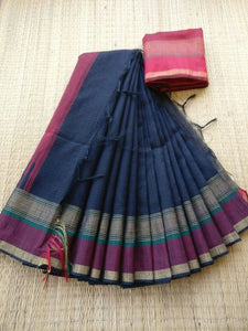 Awsome Designer Linen Printed Saree MS-2037