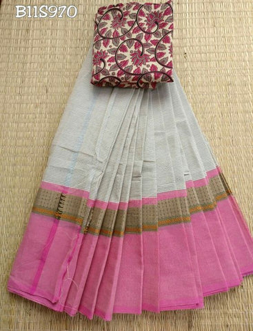 Awsome Designer Linen Printed Saree MS-2067