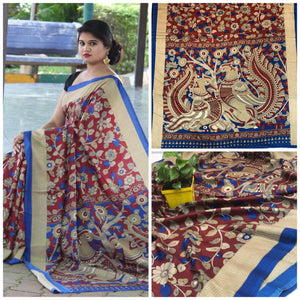 Beautiful Designer Linen Printed Saree MS-2224