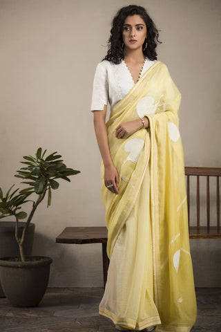 Beautiful Designer Linen Printed Saree MS-2235