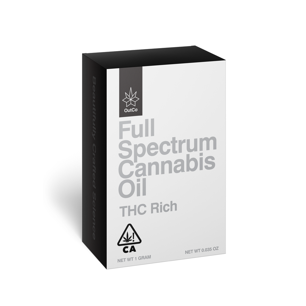 Outco Full Spectrum Cannabis Oil THC Rich