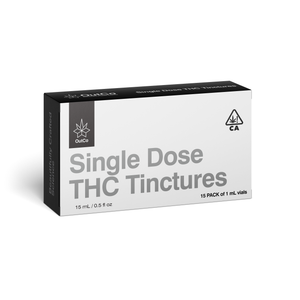 Outco Single Dose Tinctures THC